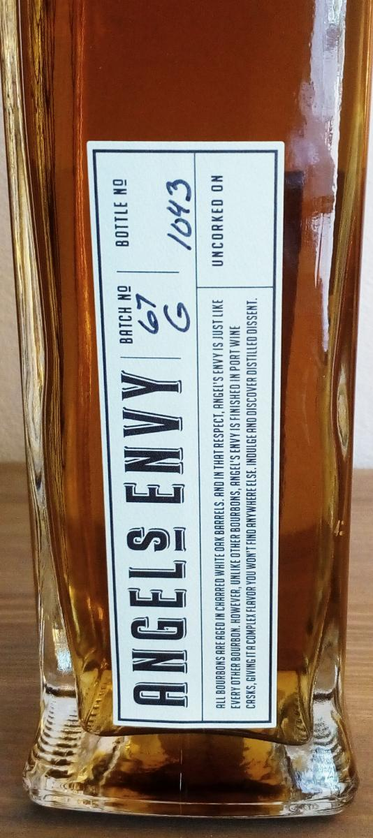 Angel's Envy Port Cask Finished