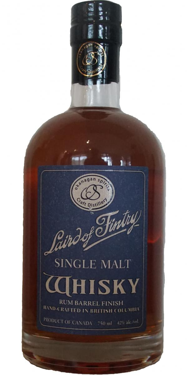 Laird of Fintry Rum Barrel Finish
