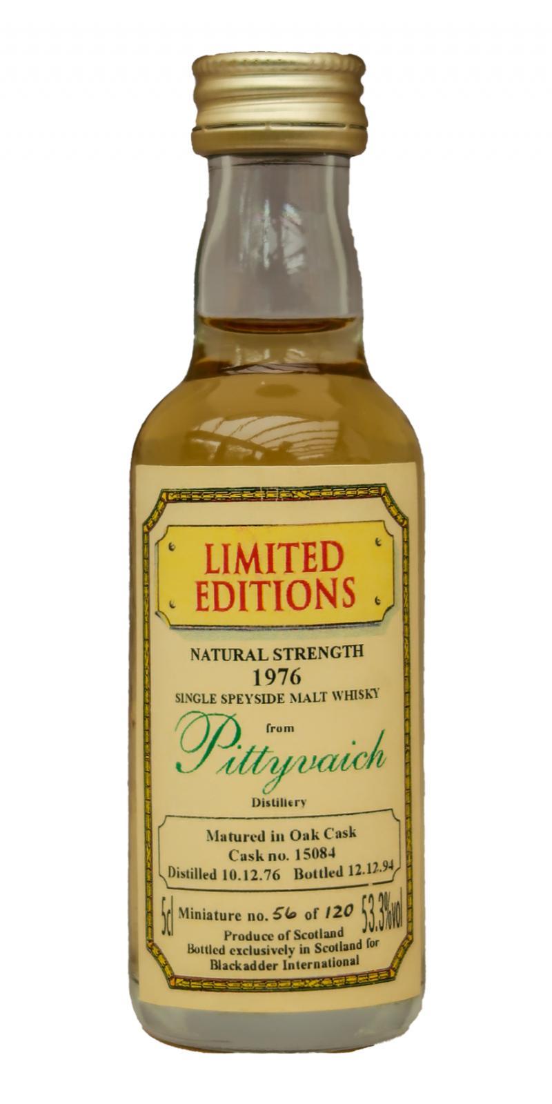 Pittyvaich 1976 BA
