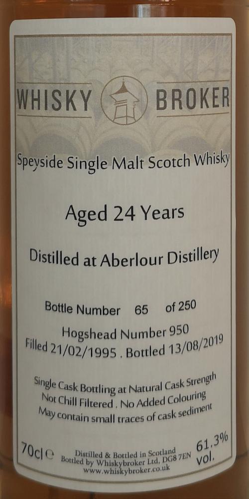 Aberlour 24-year-old WhB