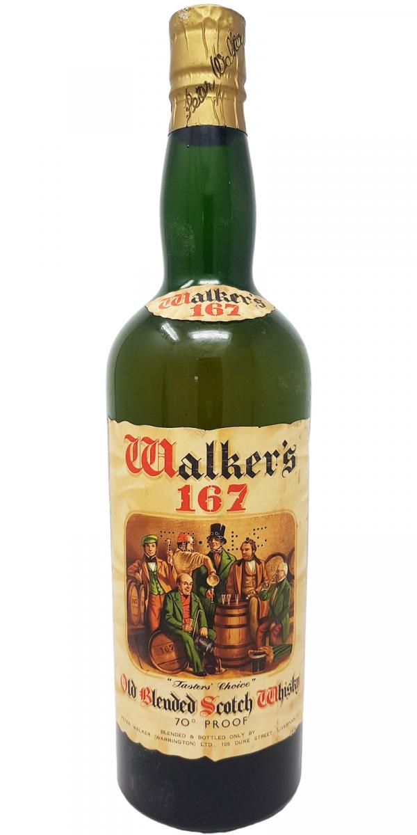Tasters' Choice Walker's 167