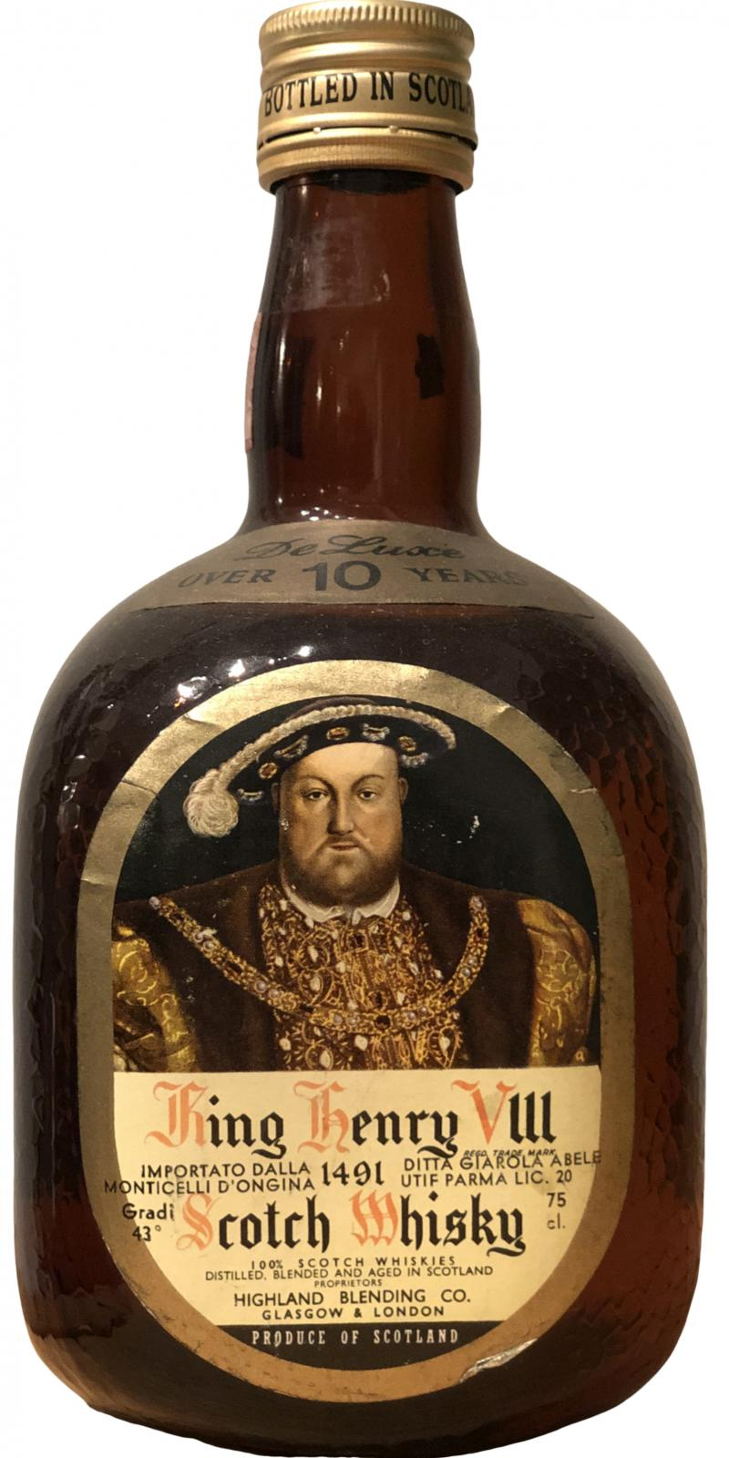 King Henry VIII 10-year-old