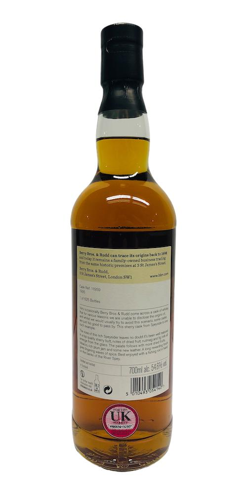 An Undisclosed Speyside Distillery 1995 BR