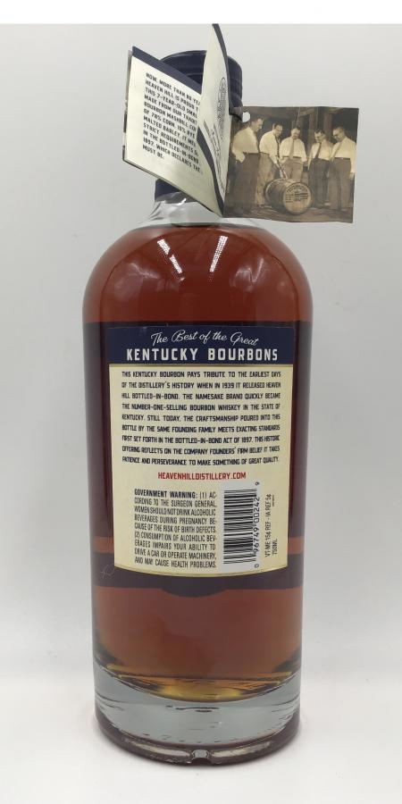 Heaven Hill 07-year-old
