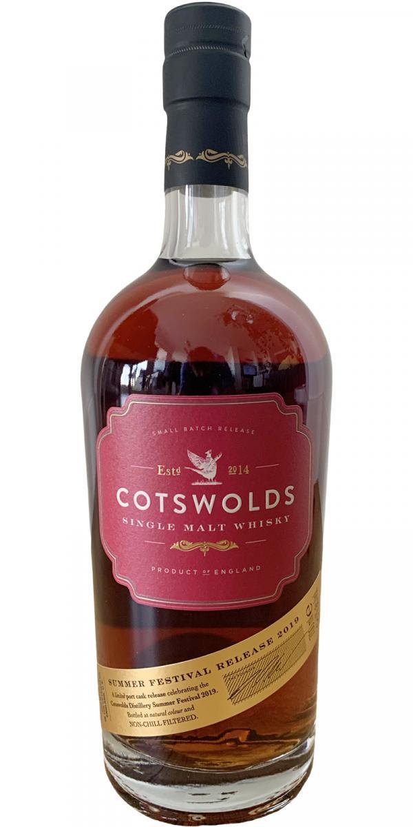 Cotswolds Distillery Summer Festival Release 2019