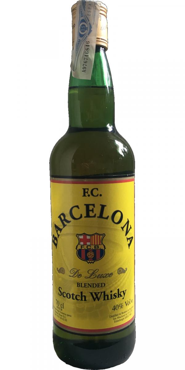 Blended Scotch Whisky F.C. Barcelona