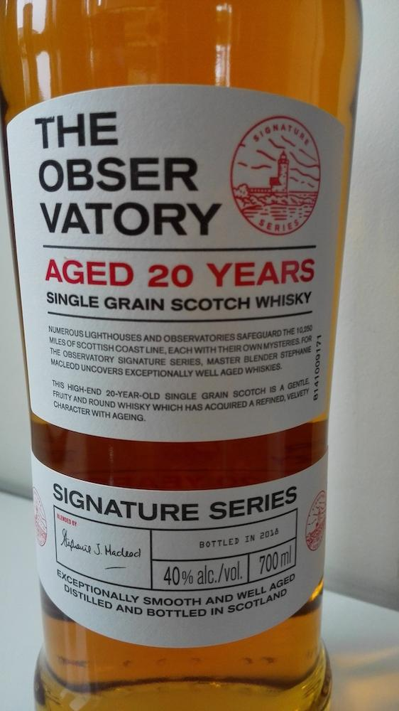 The Observatory 20-year-old