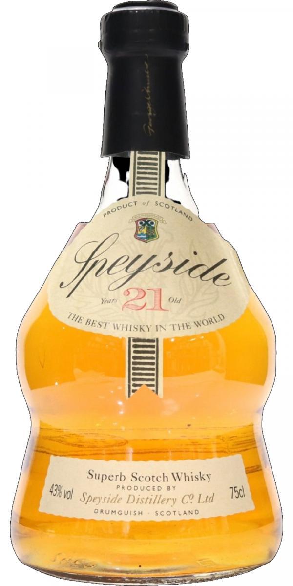 Speyside Distillery 21-year-old