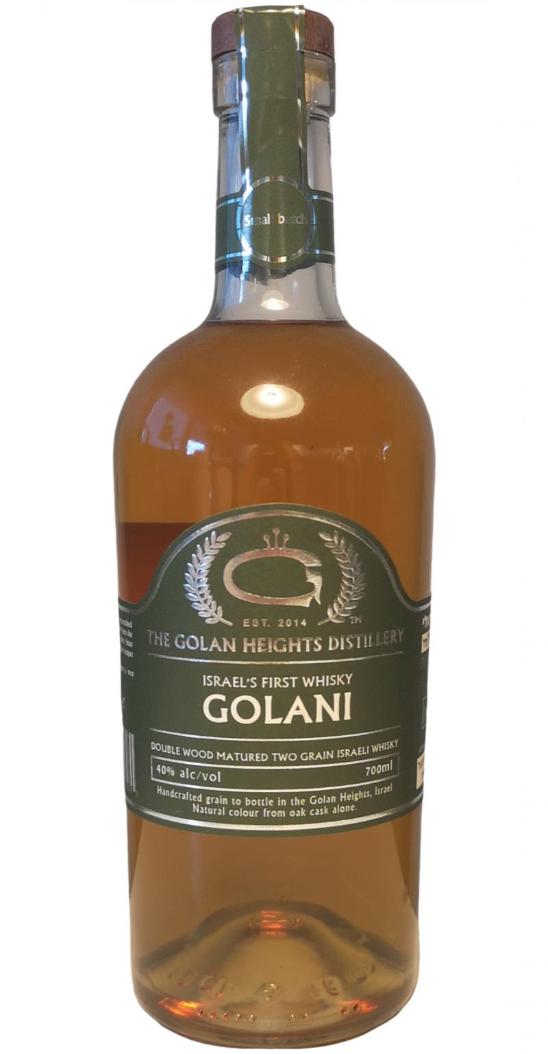 Golani Israel's First Whisky
