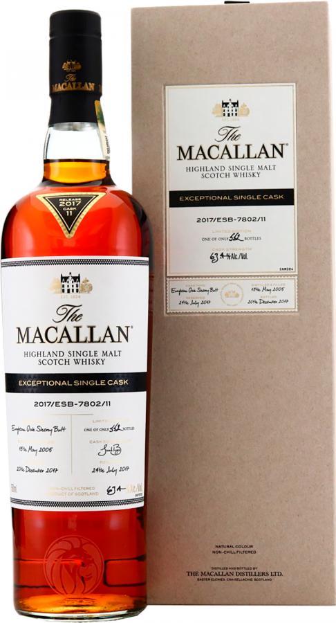Macallan 2017/ESB-7802/11