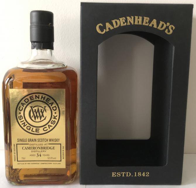 Cameronbridge 1984 CA