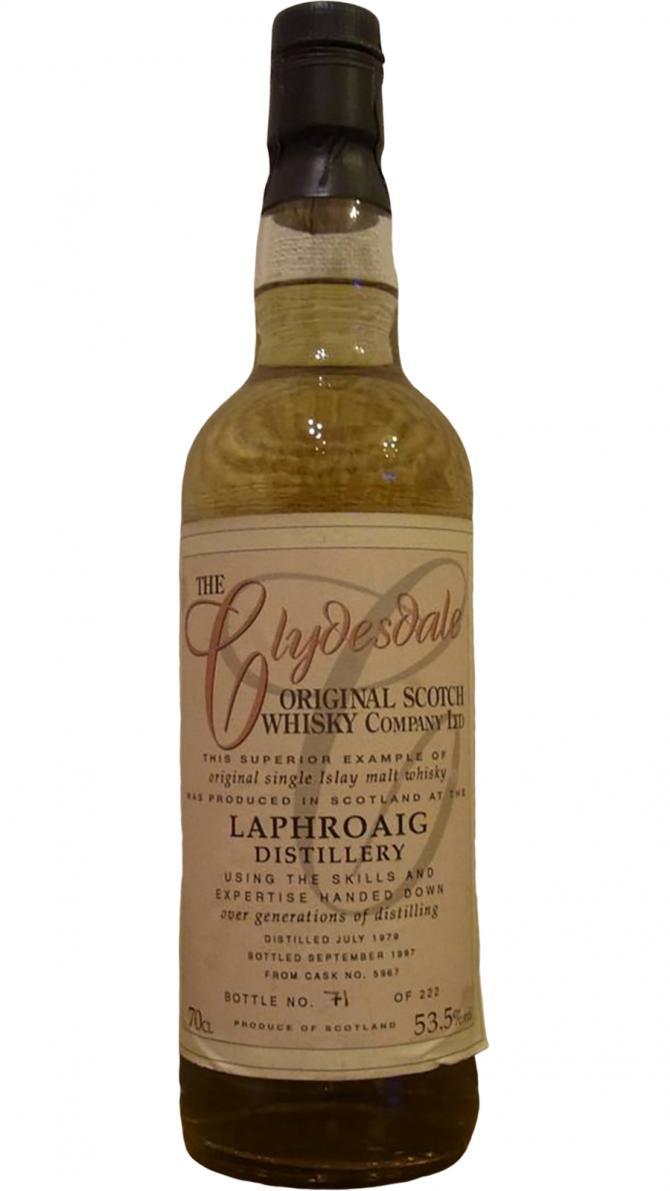 Laphroaig 1979 TCO