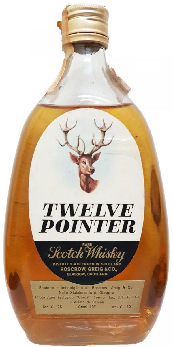 Twelve Pointer Rare Scotch Whisky