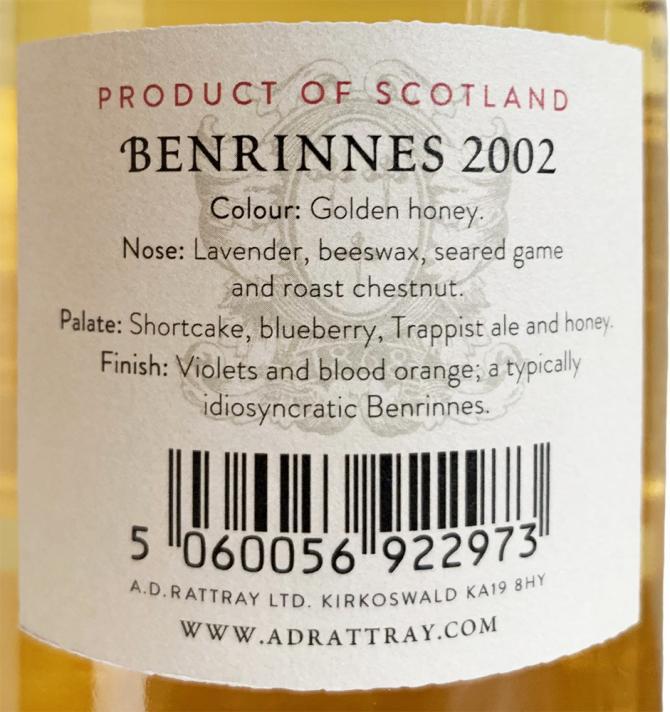 Benrinnes 2002 DR