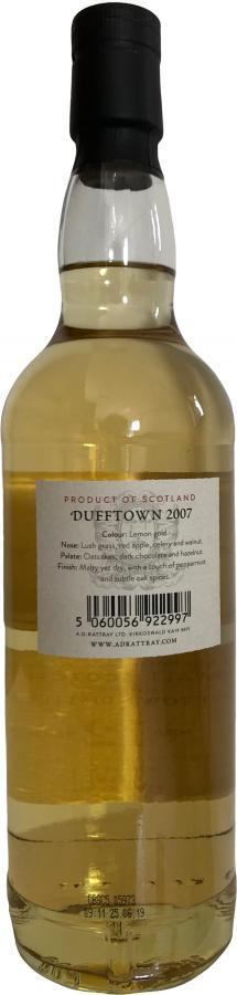 Dufftown 2007 DR