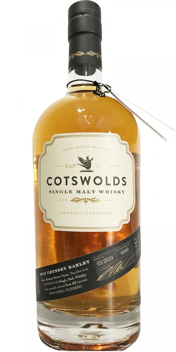 Cotswolds Distillery 2015 - Odyssey Barley