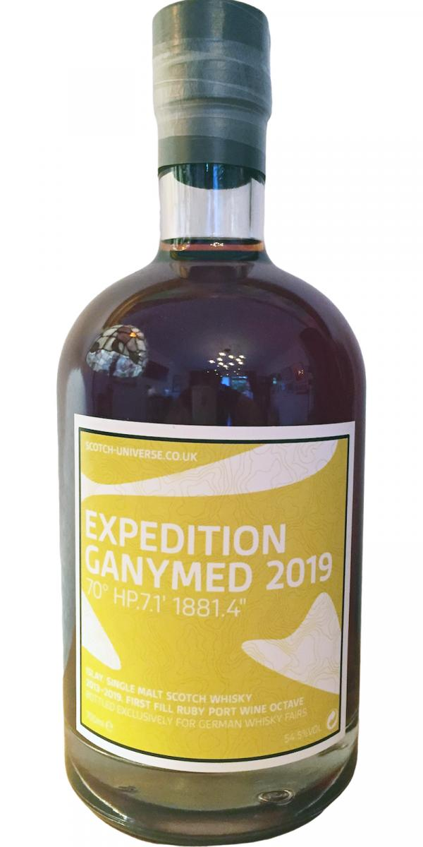 Scotch Universe Expedition Ganymed 2019 - 70° HP.7.1' 1881.4""