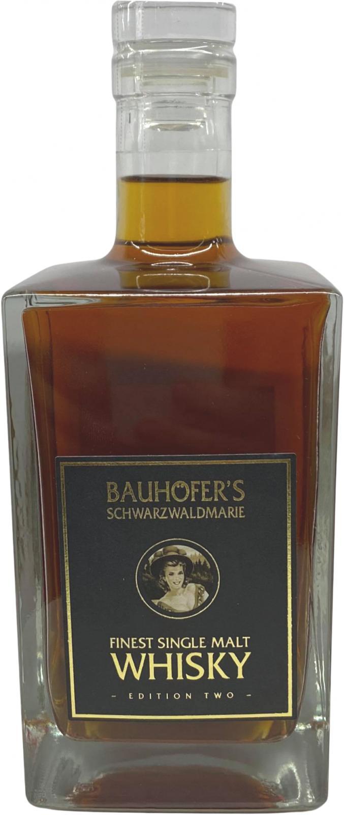 Bauhöfer's Schwarzwaldmarie Finest Single Malt Whisky