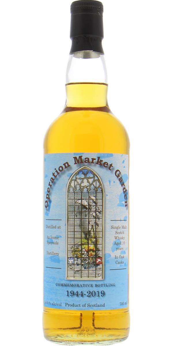 An Iconic Speyside Distillery 10-year-old - Operation Market Garden
