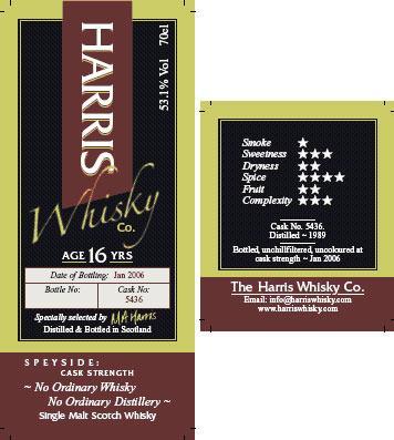Ordinary Whisky 1989 HW