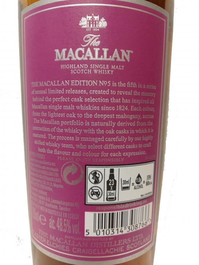 Macallan Edition No. 5