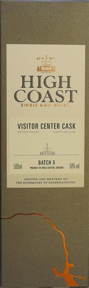 High Coast Visitor Center Cask