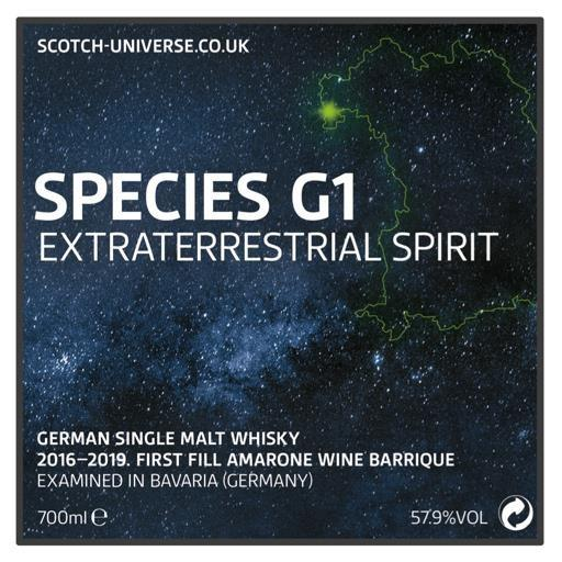 Scotch Universe Species G1 - Extraterrestrial Spirit