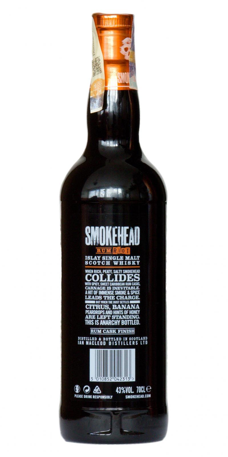 Smokehead Rum Riot IM