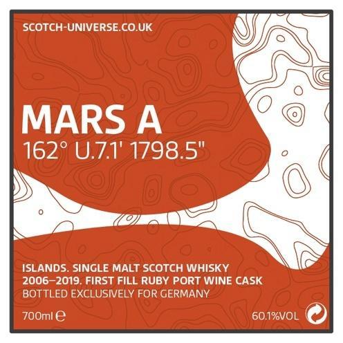 """Scotch Universe Mars A - 162° U.7.1' 1798.5"""""""