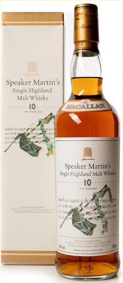 Macallan Speaker Martin's