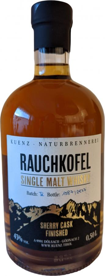 Rauchkofel Sherry Cask Finished