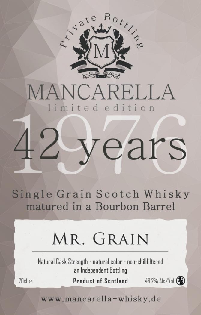 Mr. Grain 1976 Ma