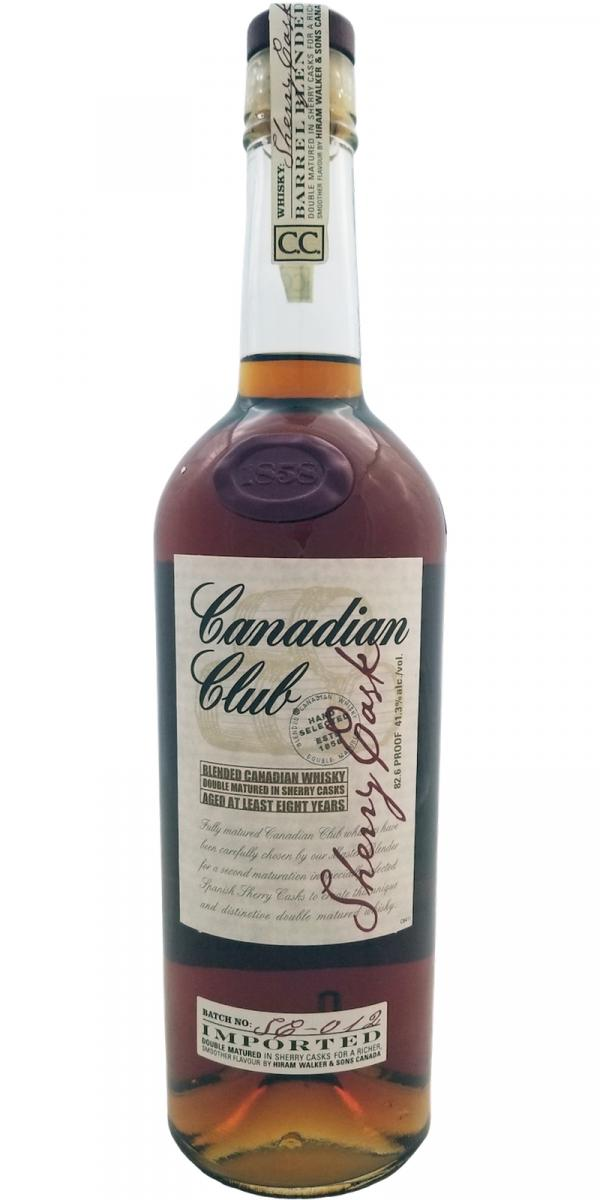 Canadian Club 08-year-old