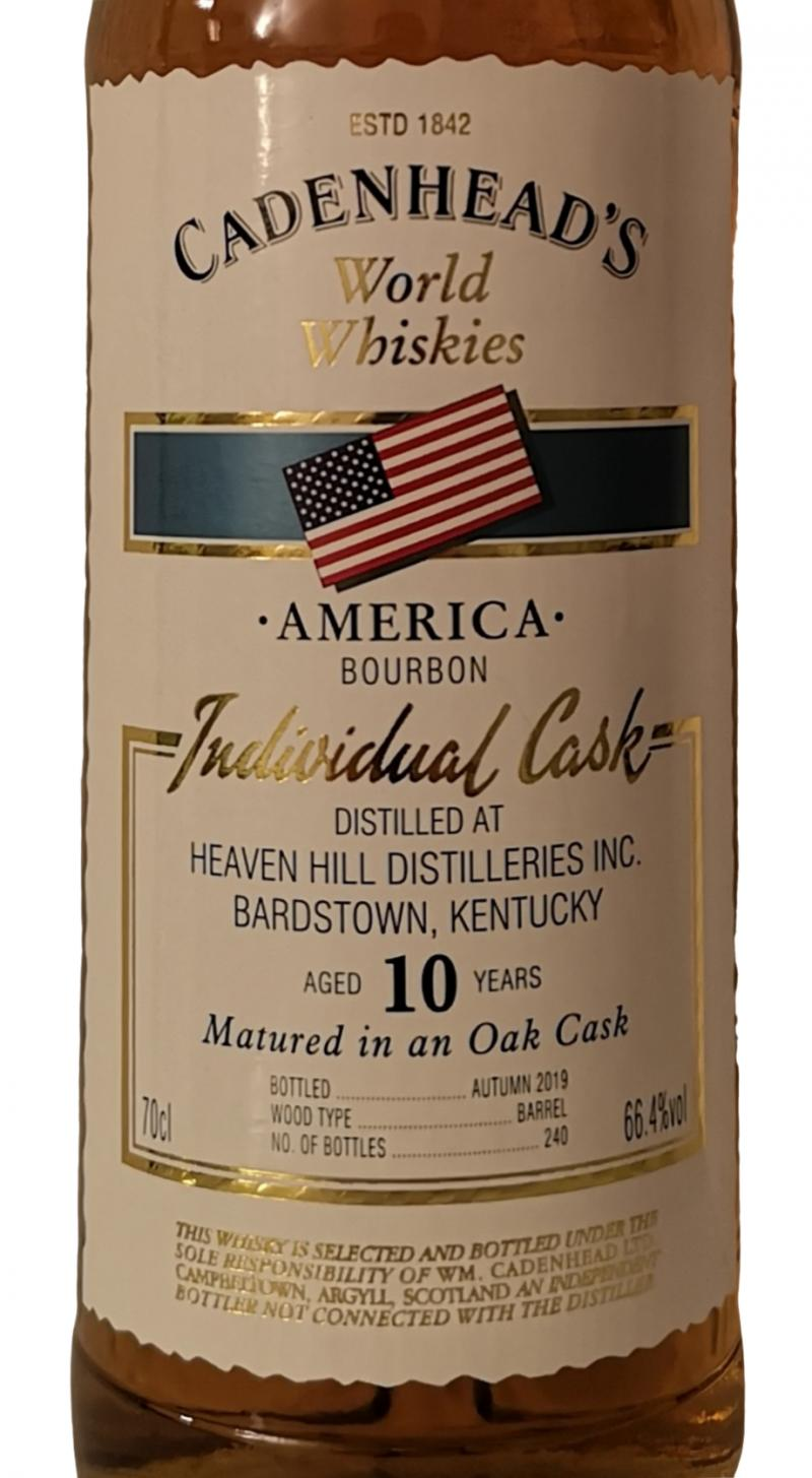Heaven Hill 10-year-old CA