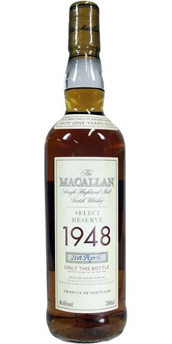 Macallan 1948