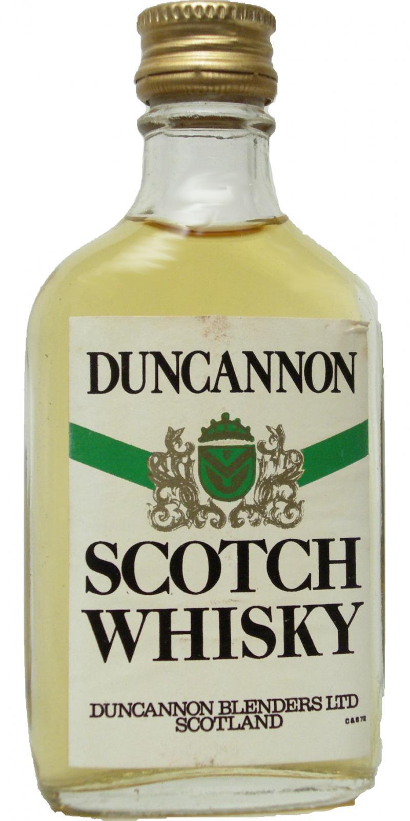 Duncannon Scotch Whisky