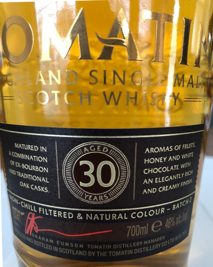 Tomatin 30-year-old