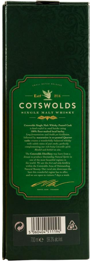 Cotswolds Distillery Peated Cask