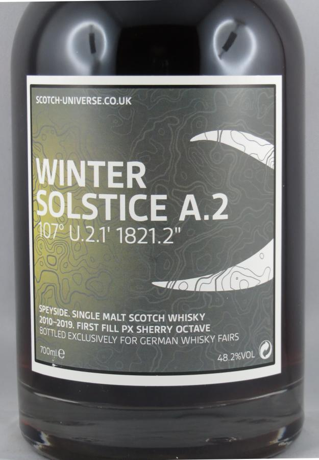 Scotch Universe Winter Solstice A.2 - 107° U.2.1' 1821.2''