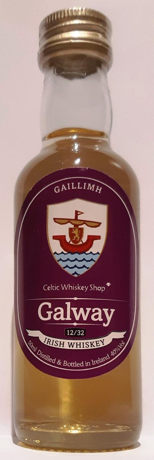 Irish Whiskey Galway