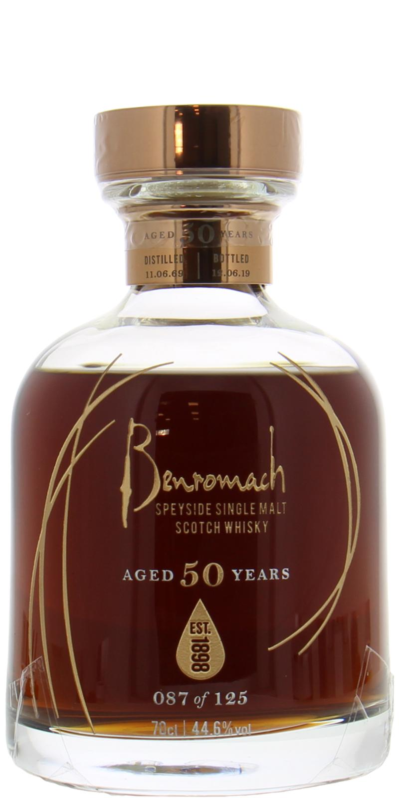 Benromach 50-year-old