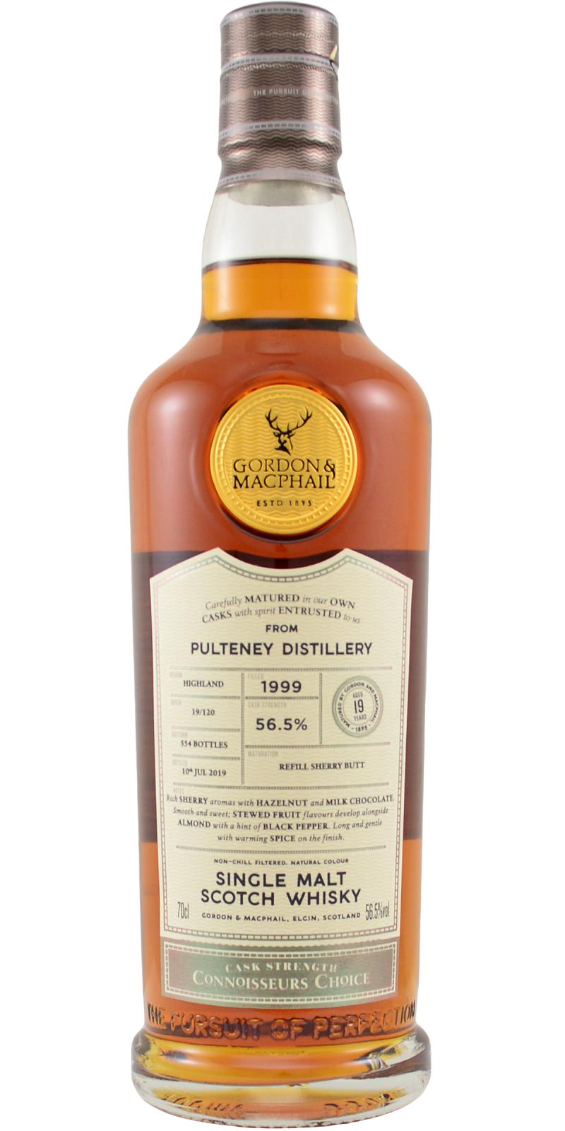 Old Pulteney 1999 GM