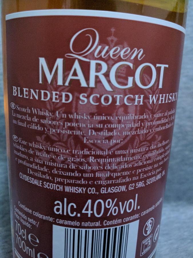 Queen Margot 03-year-old Cd