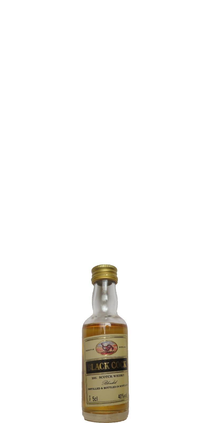 Black Cock 100% Scotch Whisky