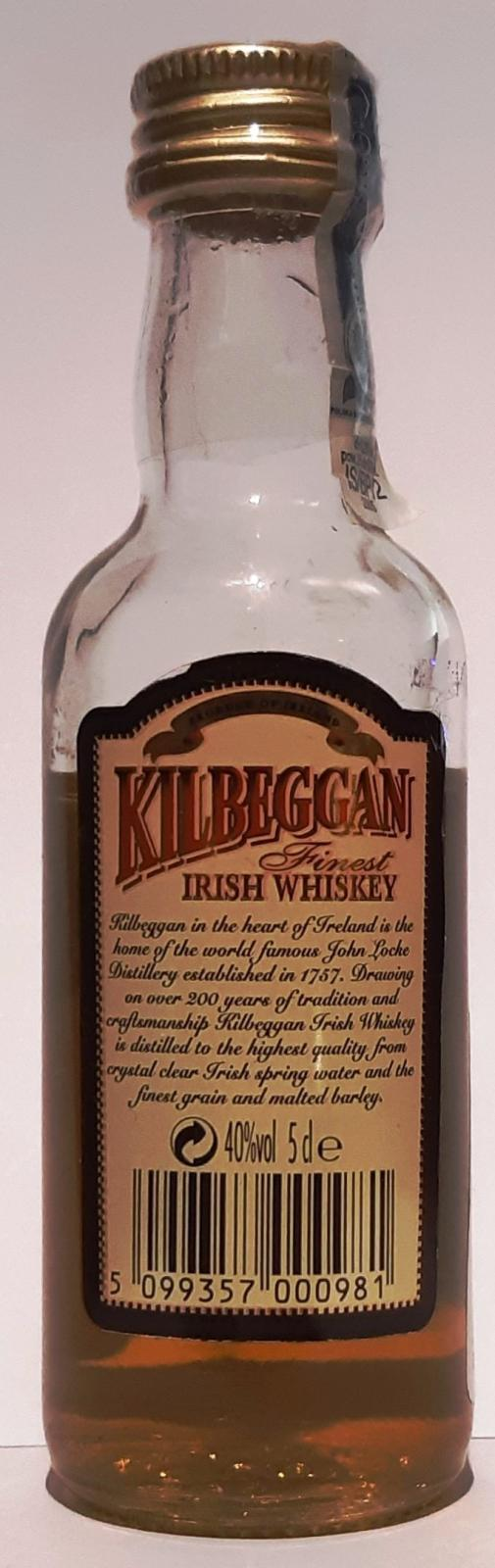Kilbeggan Finest Irish Whiskey