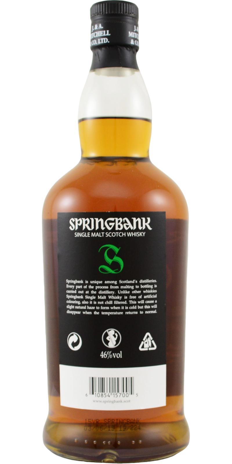 Springbank 15-year-old