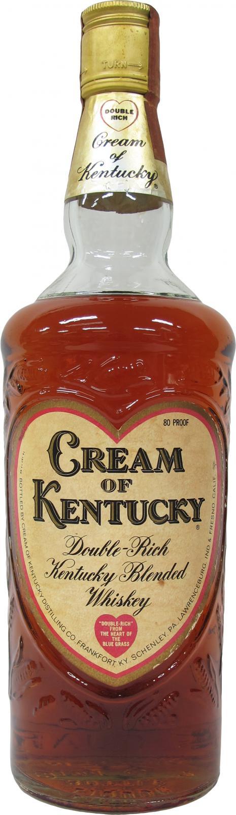 Cream of Kentucky Double-Rich Kentucky Blended Whiskey