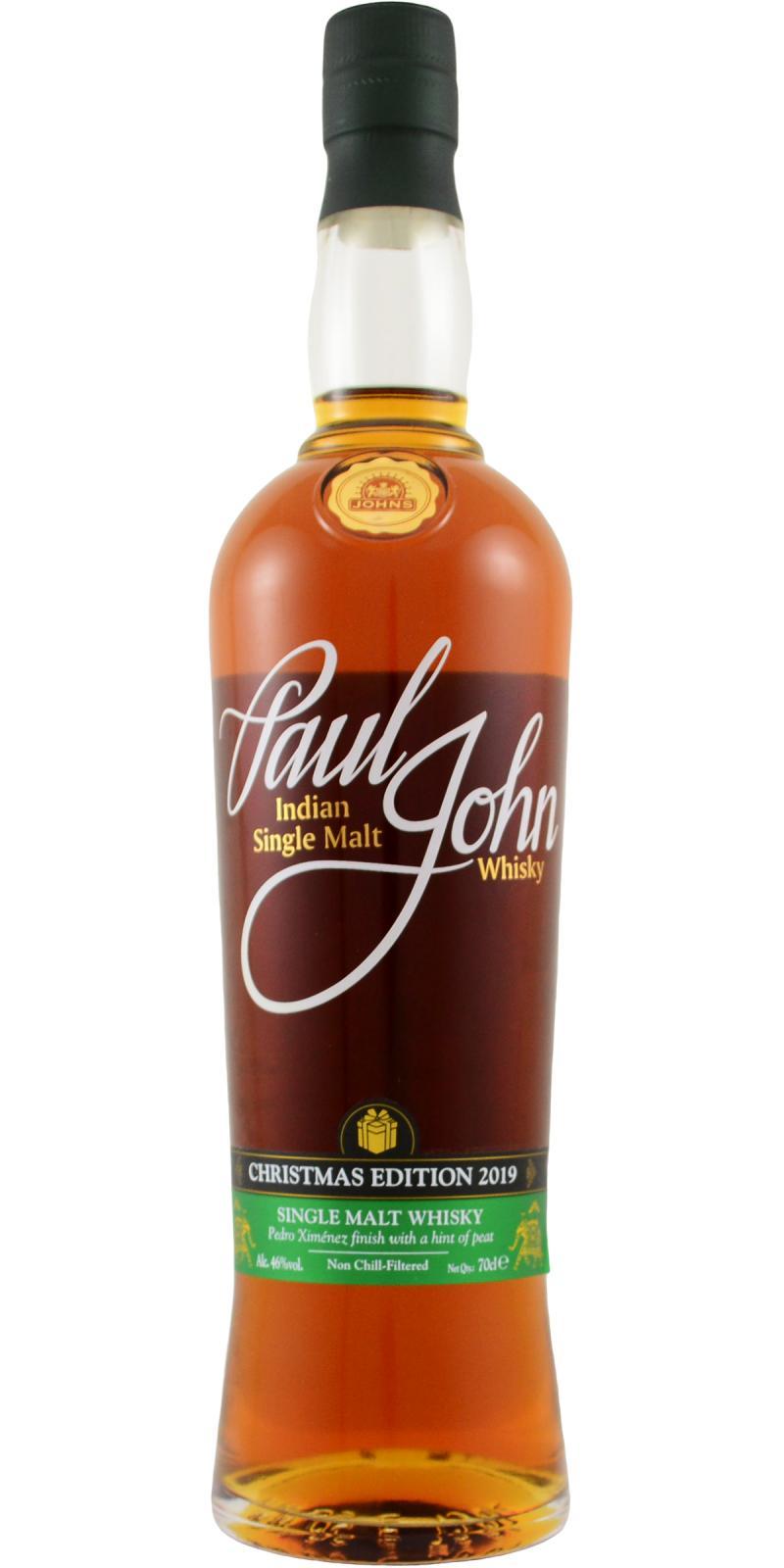 Paul John Christmas Edition 2019