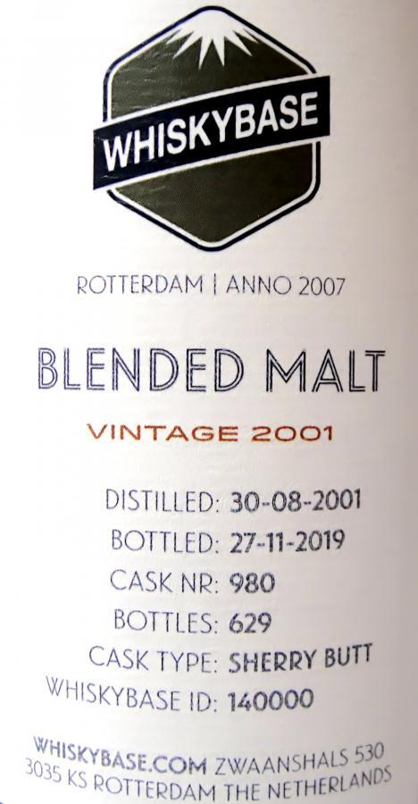 Blended Malt 2001 WB