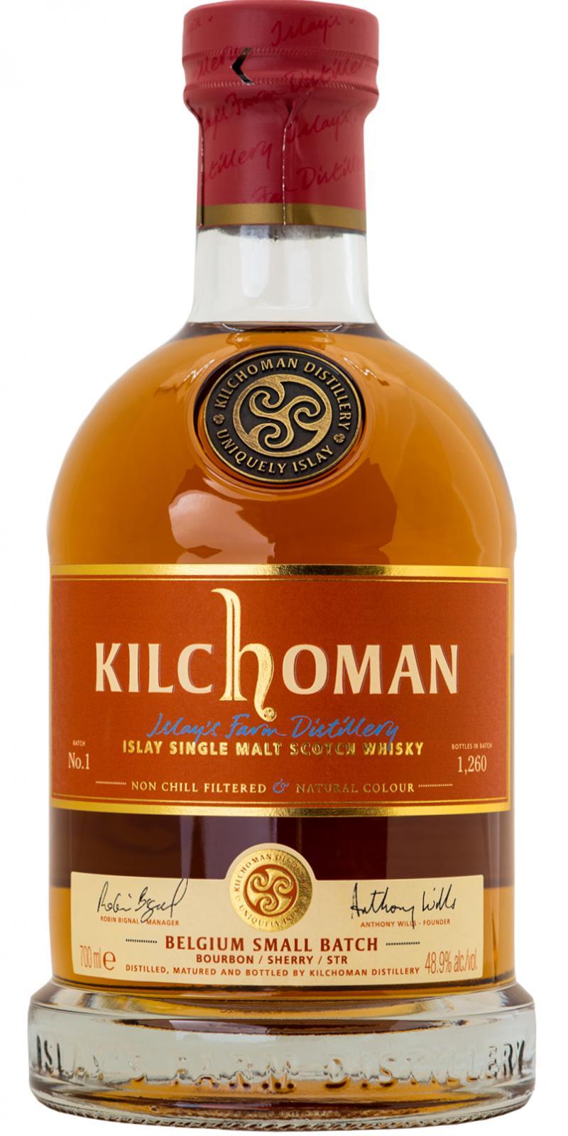 Kilchoman Belgium